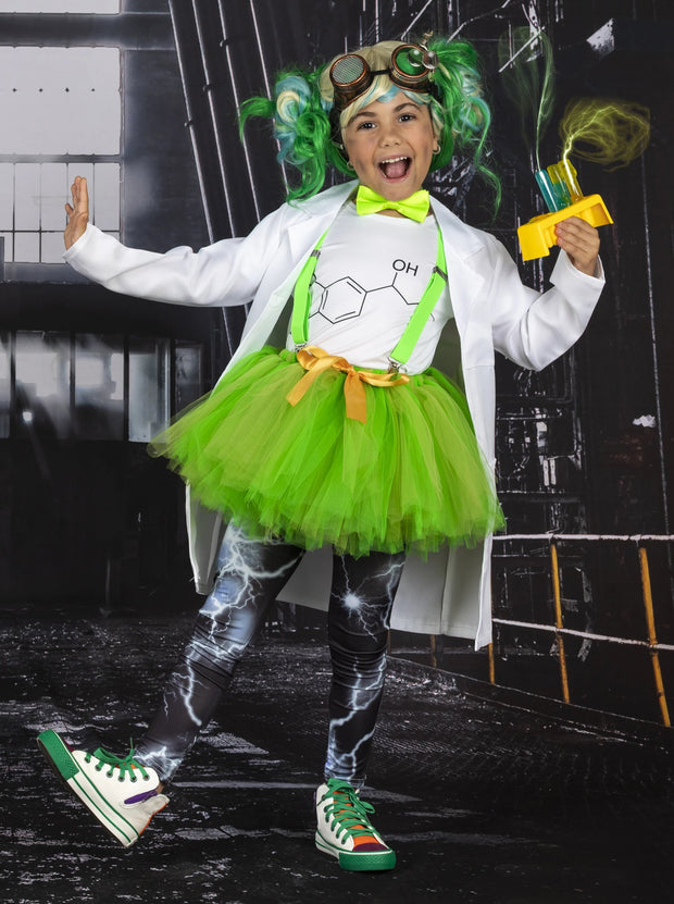 Girls Mad Scientist Inspired Costume