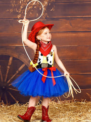 Girls Toy Story Cowgirl Jessie Inspired Halloween Costume