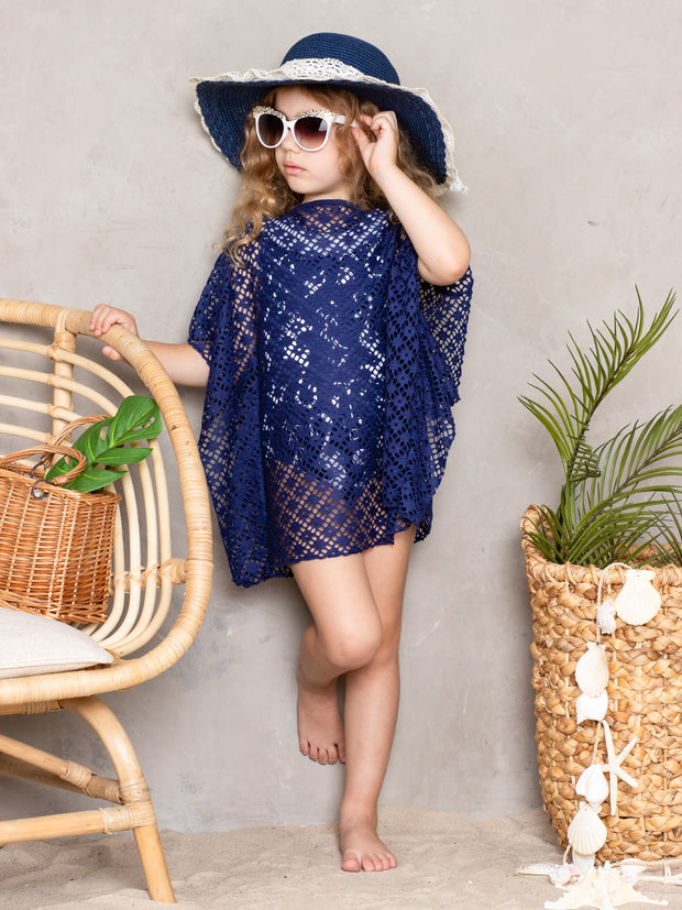 Girls Out and About Swim Cover Up