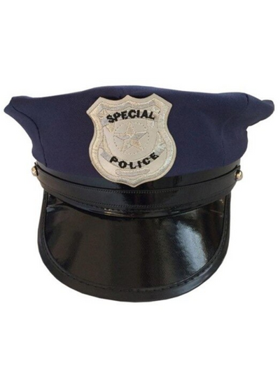 Girls Classic Policeman Hat