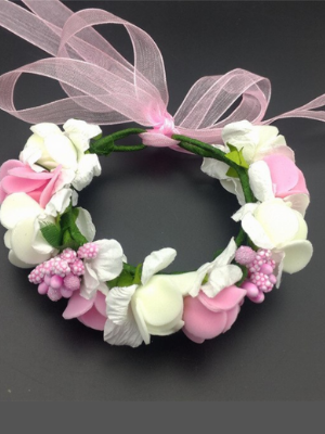 Girls Rapunzel Inspired Flower Halo