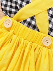Baby Bright As The Sun Top with Skirt Set