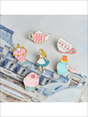 Alice in Wonderland Pins - Pins