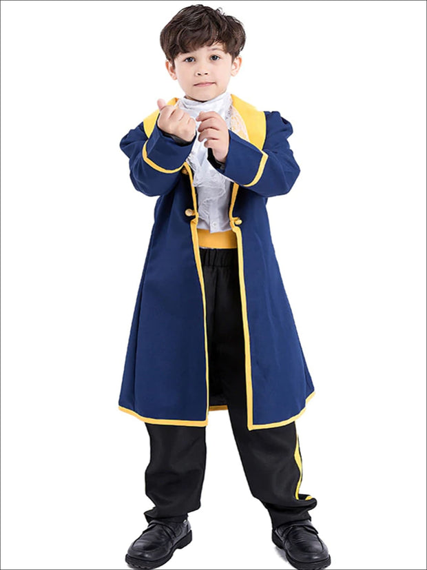Boys Deluxe 5pc Beauty & the Beast Inspired Halloween Costume - Boys Halloween Costume