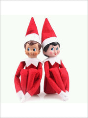 Boys & Girls Christmas Tradition Elf Toy (11 Colors) - Elf on the Shelf