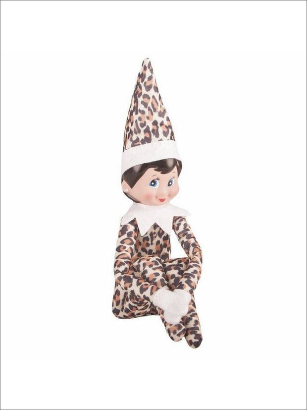 Boys & Girls Christmas Tradition Elf Toy (11 Colors) - Animal Print Girl / One - Elf on the Shelf