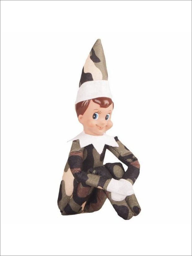 Boys & Girls Christmas Tradition Elf Toy (11 Colors) - Camo Boy / One - Elf on the Shelf