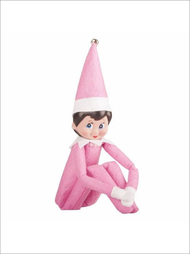 Boys & Girls Christmas Tradition Elf Toy (11 Colors) - Pink Girl / One - Elf on the Shelf