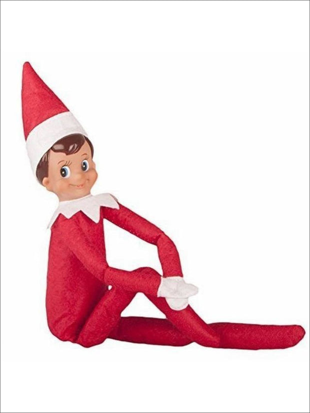 Boys & Girls Christmas Tradition Elf Toy (11 Colors) - Red Boy / One - Elf on the Shelf