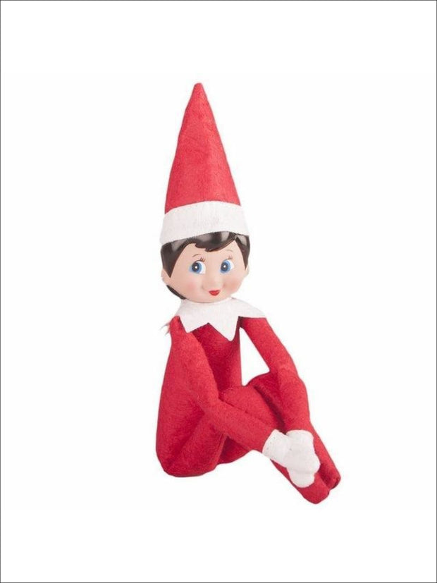Boys & Girls Christmas Tradition Elf Toy (11 Colors) - Red Girl / One - Elf on the Shelf