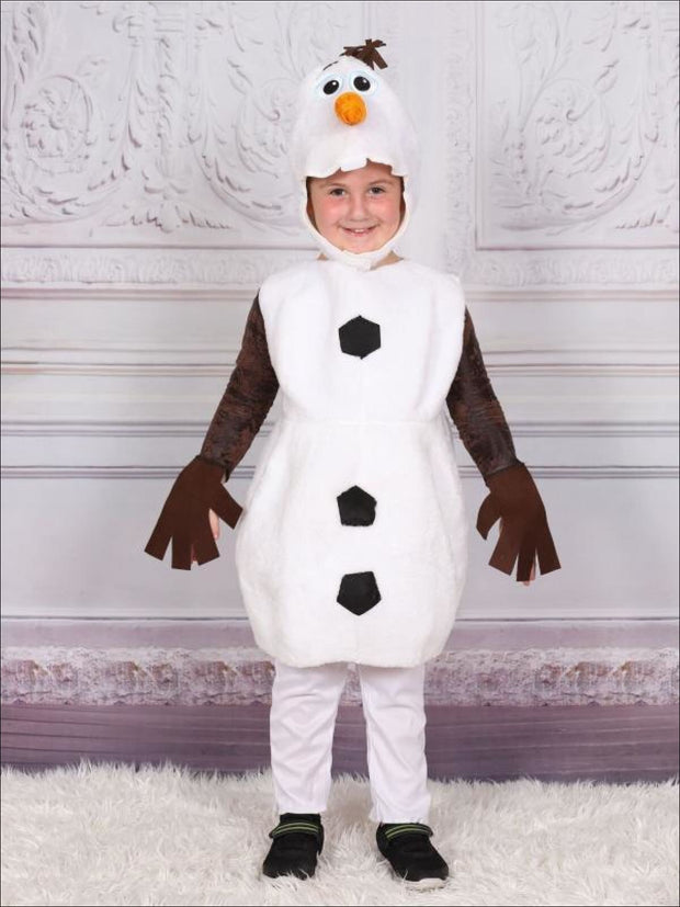 Boys Limited Edition Olaf from Frozen Inspired Costume - Boys Halloween Costume