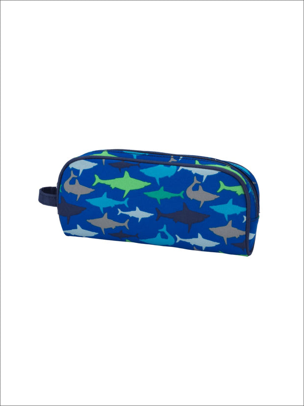 Boys Navy Blue Jaw-Some - Boys Pencil Case