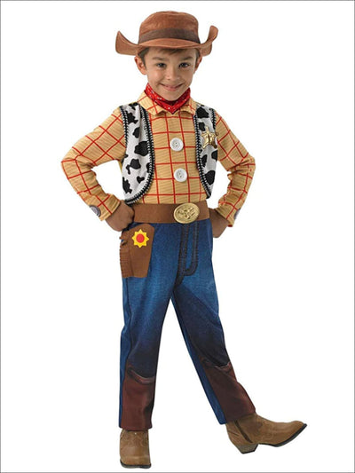 Boys Toy Story 4 Inspired Cowboy Woody Halloween Costume - 3T/4T - Boys Halloween Costume