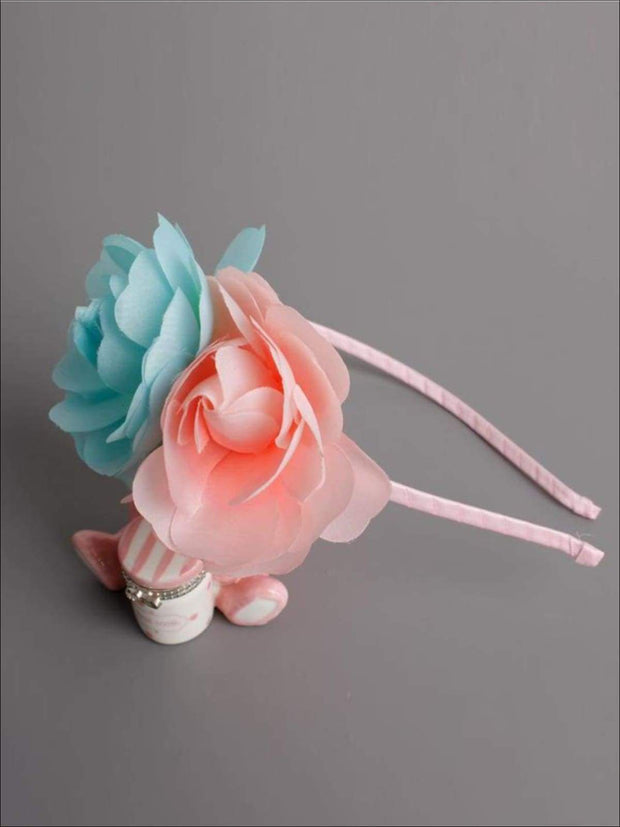 Butterfly Flower Headband - Mint / One - Hair Accessories