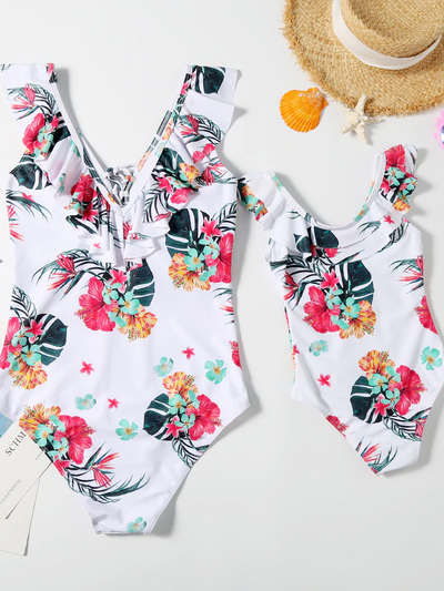 Mom & Me  Beach Party Swimsuit