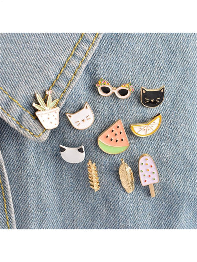 Daisies & Kitties Pins - Pins