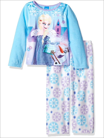 Disney Girls Frozen Anna Gift Pajama with Olaf