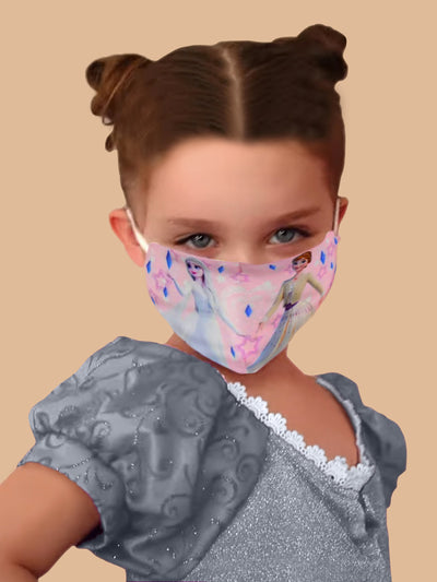 Kids Frozen Inspired Reusable/Washable Face Masks