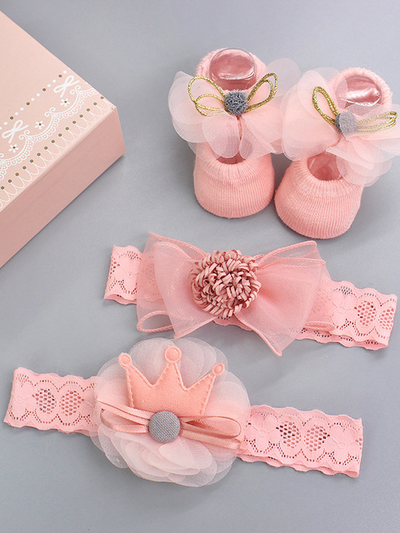 Baby Picture Perfect Headband and Shoes Set