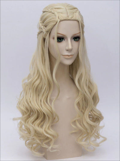 Game of Thrones Mother of Dragons Daenerys Inspired Wig - Girls Halloween Costume