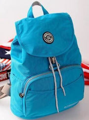 Girls 15 Kipling Inspired Waterproof Backpacks - Blue - Girls Backpacks