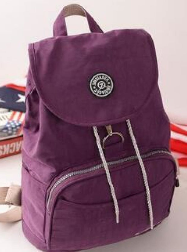 Girls 15 Kipling Inspired Waterproof Backpacks - Purple - Girls Backpacks