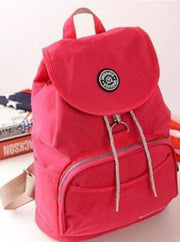 Girls 15 Kipling Inspired Waterproof Backpacks - Rose - Girls Backpacks