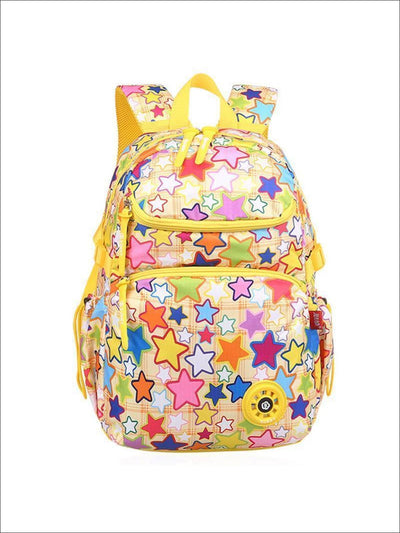 Girls 17.5 Multicolor Star Print Backpack ( 2 Color Options) - Multicolor - Girls Backpacks