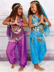 Girls Arabian Genie Halloween Costume - Girls Halloween Costume