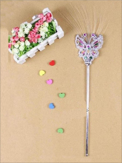 Girls Butterfly Fairy Wand - One Size - Girls Accessories