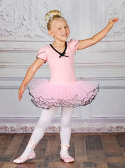 Girls Cap Sleeve Prima Ballerina Tutu Halloween Costume - Girls Halloween Costume