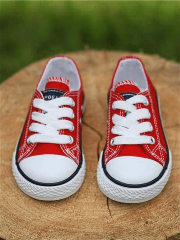 Girls Casual Low Top Sneakers - Girls Sneakers