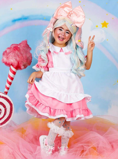 Girls Cotton Candy Harajuku Girl Halloween Costume - Girls Halloween Costume
