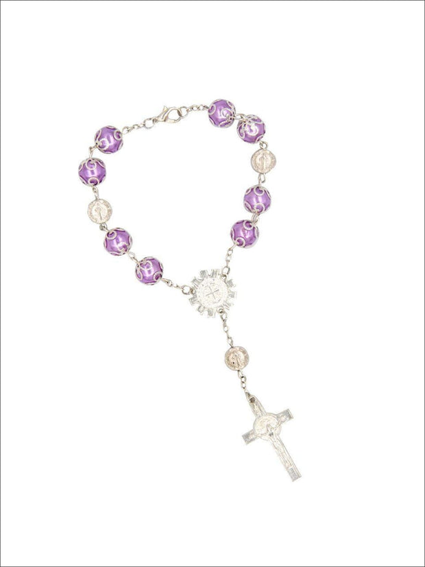 Girls Cross Rosary - Girls Accessories