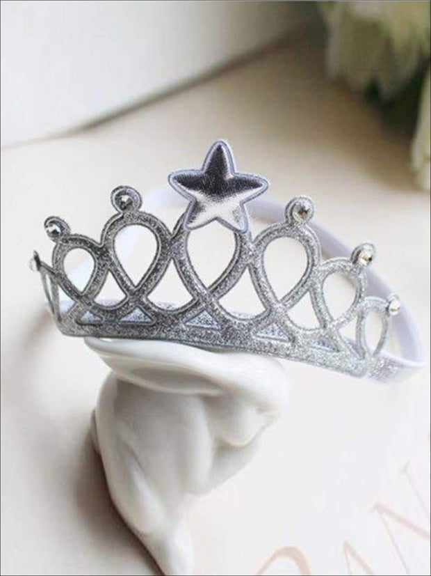 Girls Crown Headband - accessories