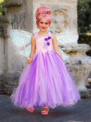 Girls Deluxe Nutcracker & the Four Realms Sugarplum Fairy Costume Dress - Girls Halloween Costume