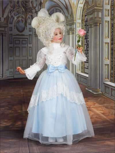 Girls Deluxe Victorian Marie Antoinette Halloween Costume - Girls Halloween Costume