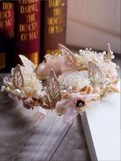 Girls Fashion Mermaid Crown - Girls Mermaid Crown