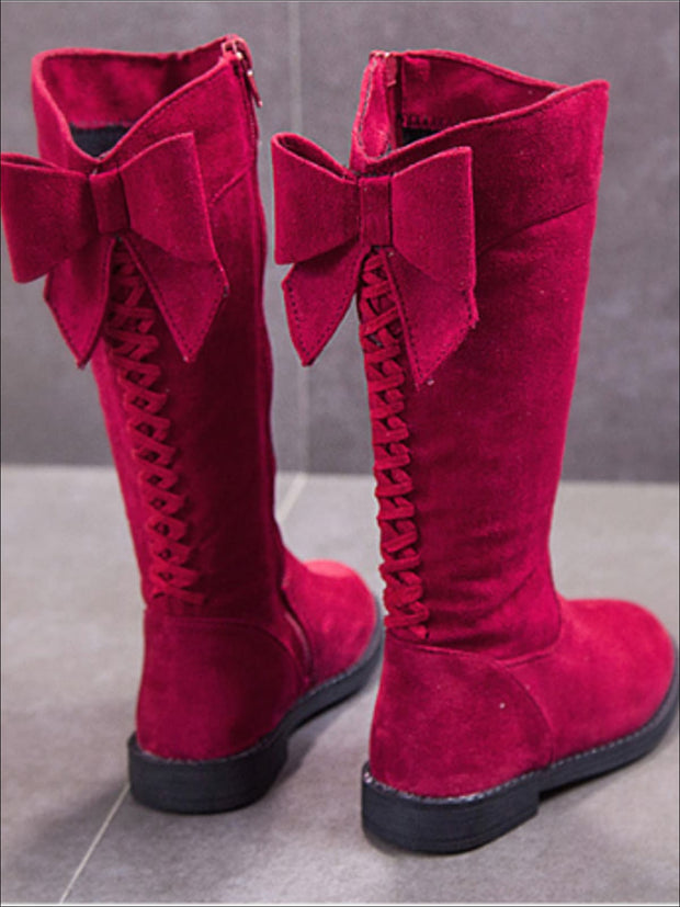 suede boots for girls