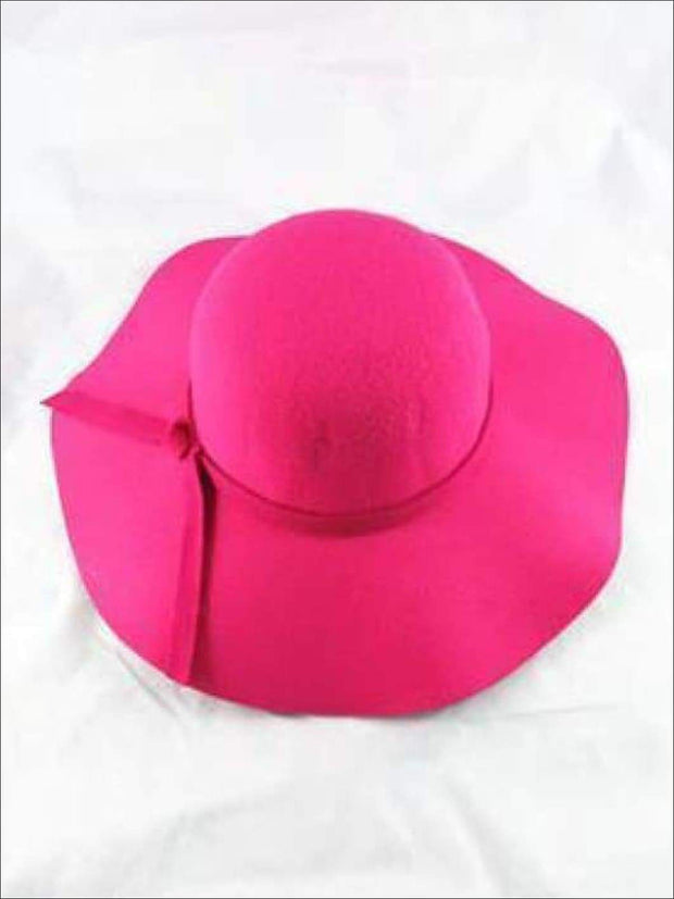 Girls Floppy Hat (6 color options) - Hot Pink / One - Hats & Caps