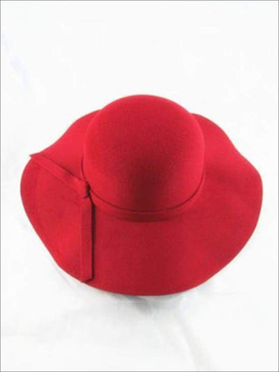 Girls Floppy Hat (6 color options) - Red / One - Hats & Caps