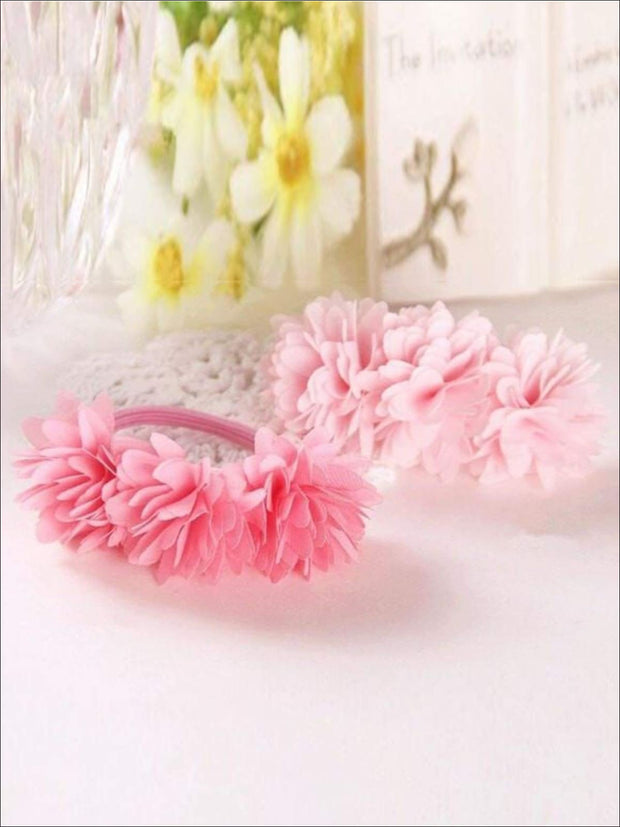 Girls Flower Petal Hair Band - Hair Accessories