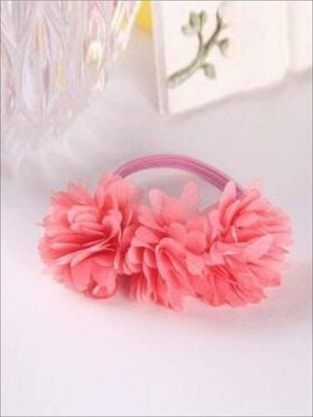Girls Flower Petal Hair Band - Coral / Small - Hair Accessories