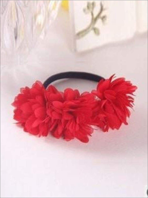 Girls Flower Petal Hair Band - Red / Small - Hair Accessories