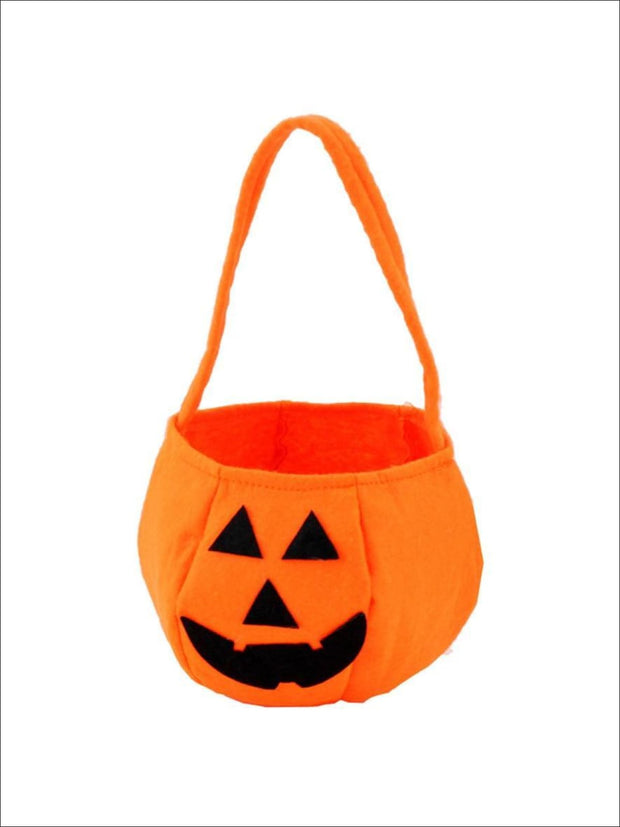 Girls Halloween Jack-O-Lantern Trick-or-Treat Bag - Accessories