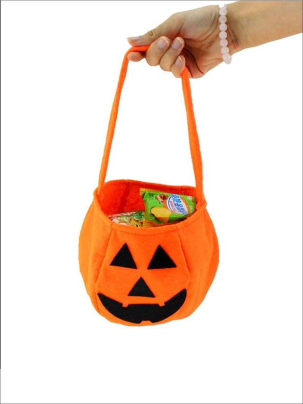 Girls Halloween Jack-O-Lantern Trick-or-Treat Bag - 28CM x 20CM x 13CM - Accessories