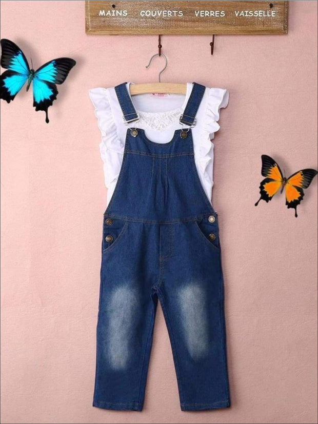 Girls Jean Classic Overall - Girls Jumpsuit