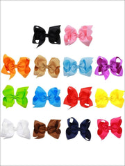 Girls Large Bow Hair Clip - Hair Accessories