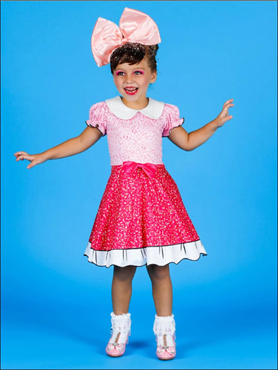 Girls LOL Doll Fancy Inspired Halloween Costume Dress - Girls Halloween Costume