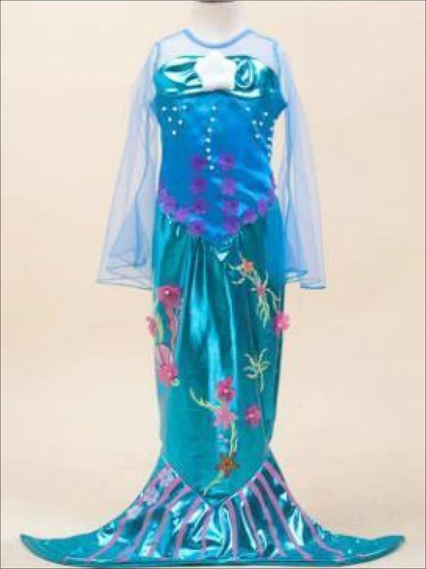 Girls Mermaid Halloween Costume - Girls Halloween Costume